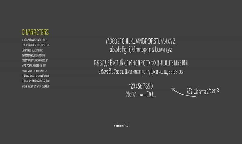 5ive шрифт скачать бесплатно