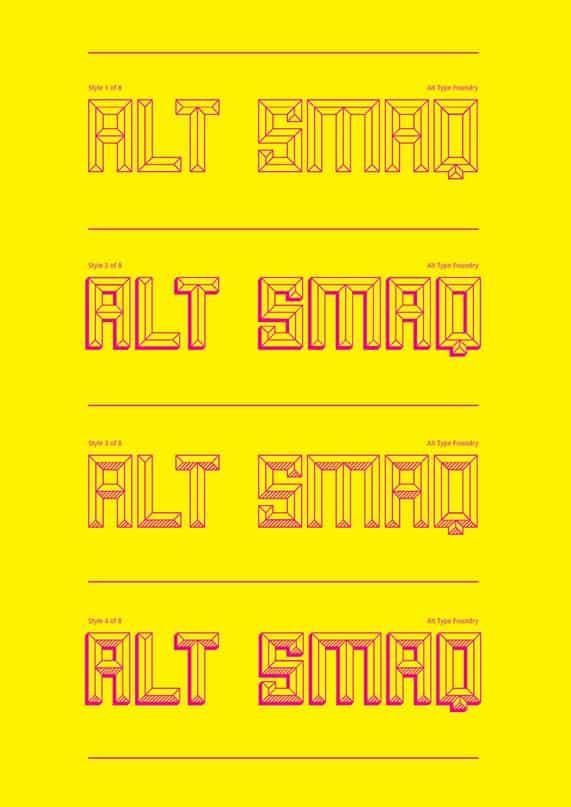 Alt smaq family шрифт скачать бесплатно