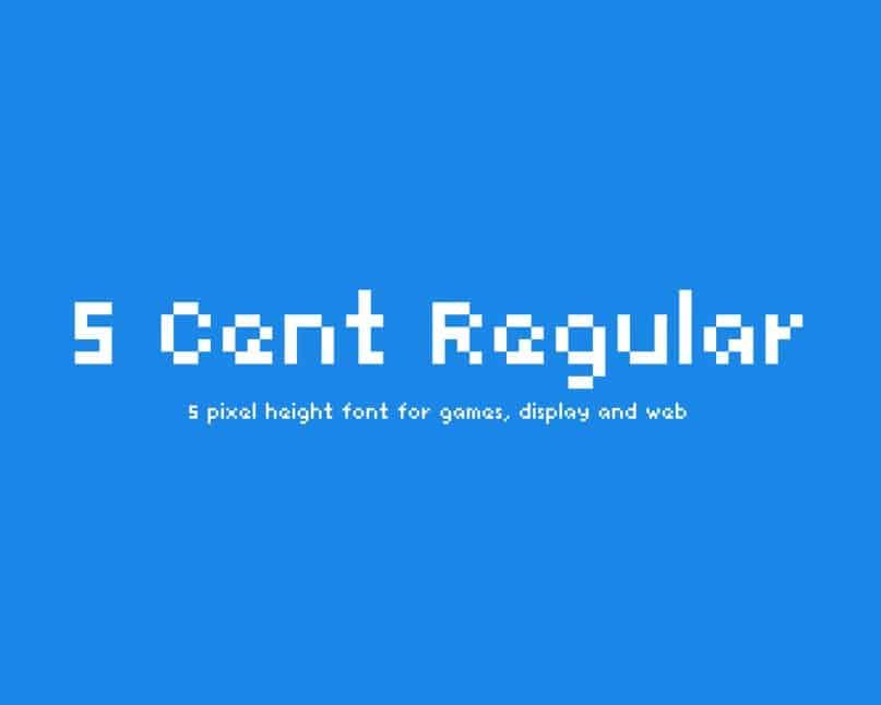 5 Cent шрифт скачать бесплатно