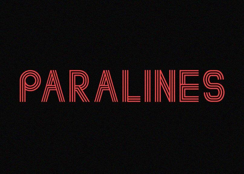 Paralines шрифт скачать бесплатно