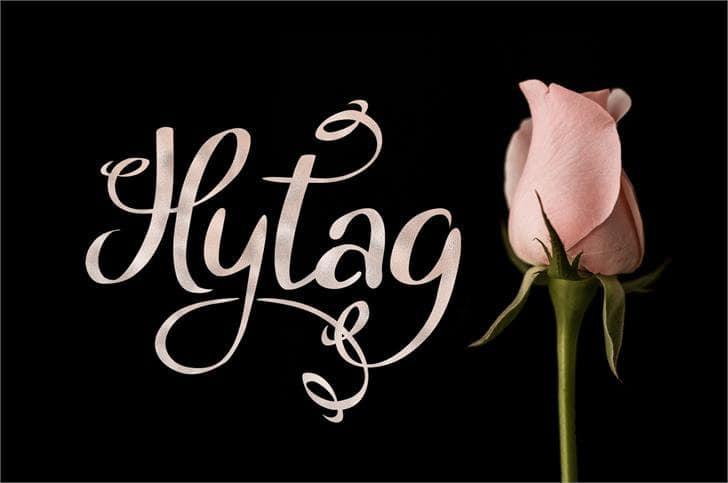 Hytag шрифт скачать бесплатно