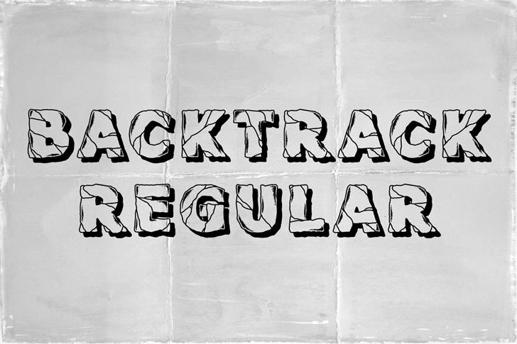 Backtrack шрифт скачать бесплатно