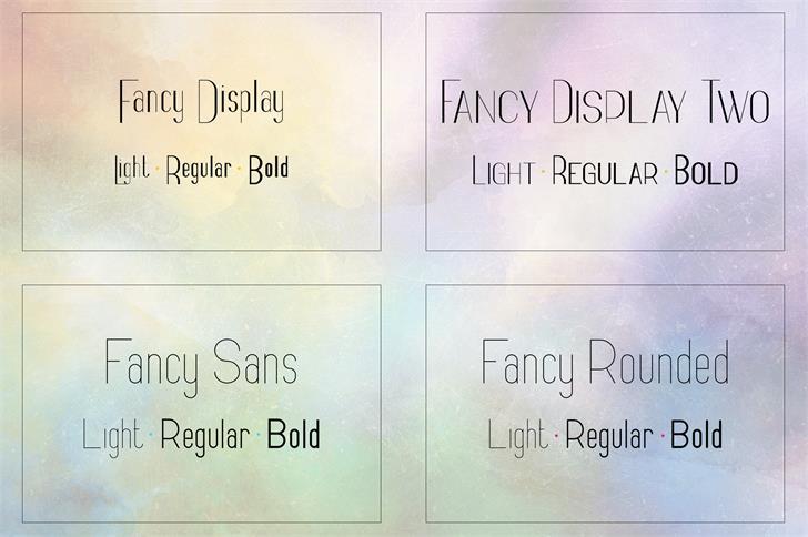 Fancy Light шрифт скачать бесплатно