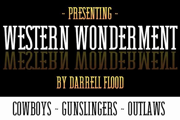 Western Wonderment шрифт скачать бесплатно