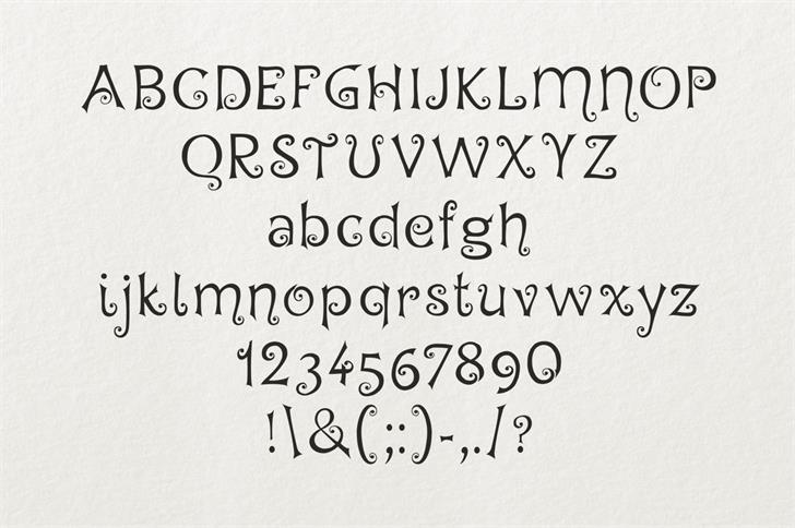 Hegran шрифт скачать бесплатно