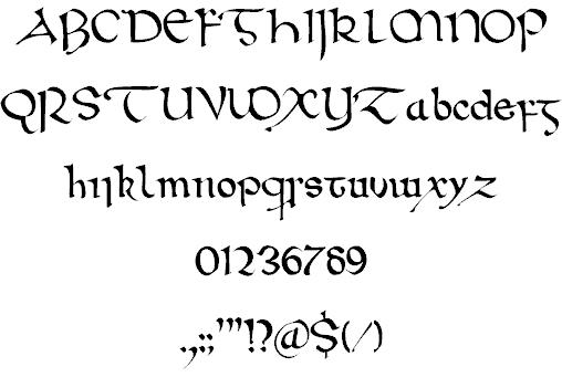 Wintanceastre шрифт скачать бесплатно