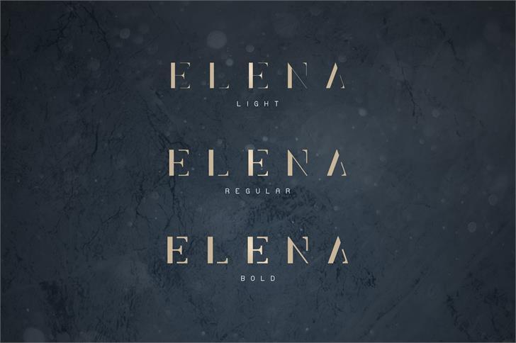 Elena Light шрифт скачать бесплатно