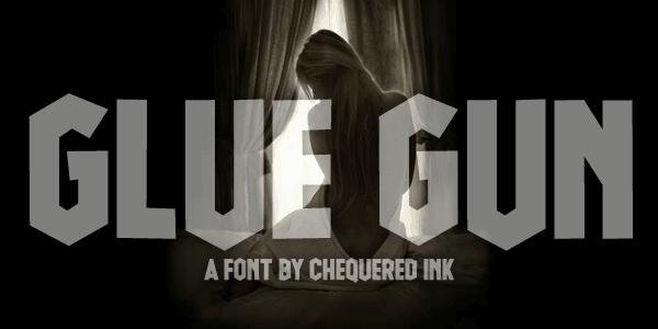 Glue Gun шрифт скачать бесплатно