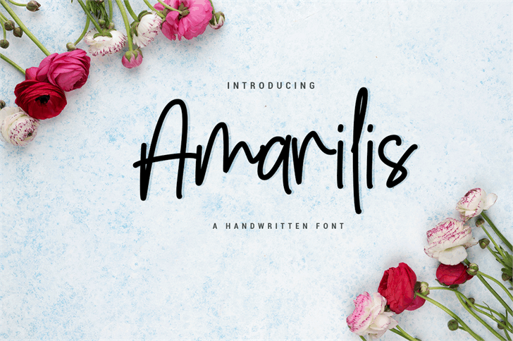 Amarilis Script шрифт скачать бесплатно
