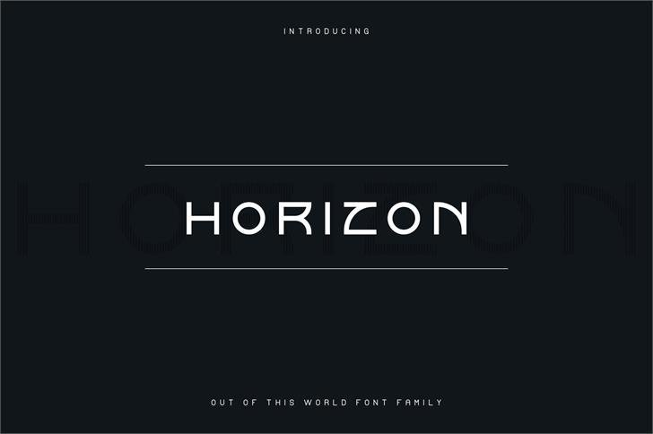 Horizon Outlinetwo шрифт скачать бесплатно