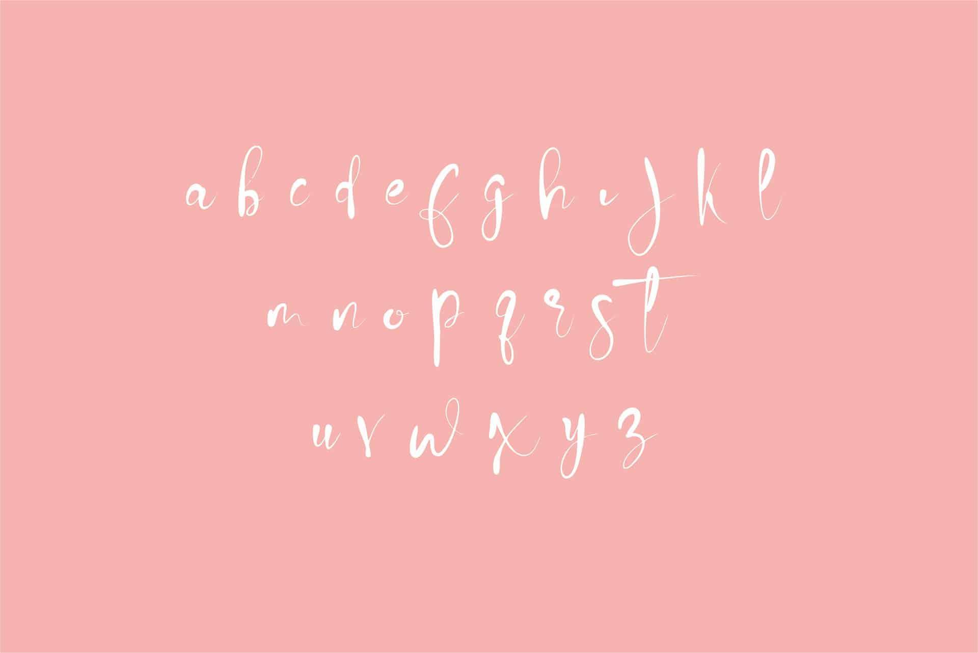 Winteria шрифт скачать бесплатно