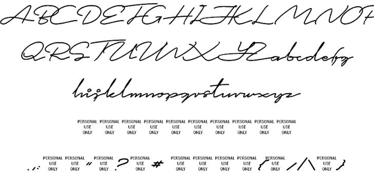 This is Signature   шрифт скачать бесплатно