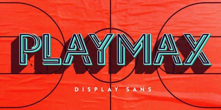Playmax   шрифт скачать бесплатно