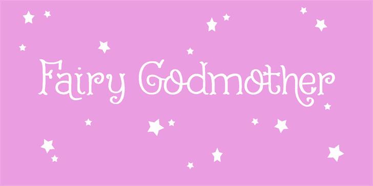 Fairy Godmother шрифт скачать бесплатно