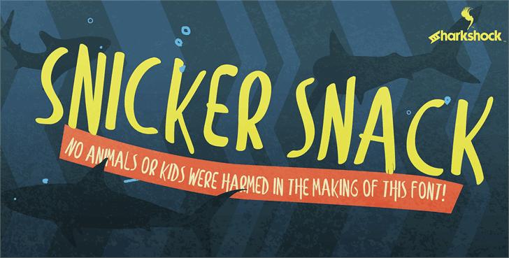 Snicker Snack шрифт скачать бесплатно