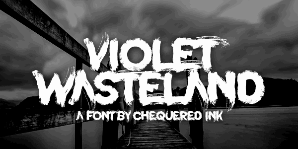 Violet Wasteland шрифт скачать бесплатно