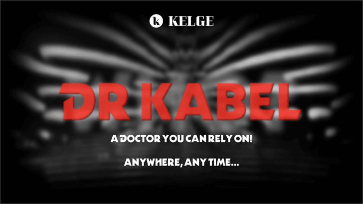 Dr Kabel шрифт скачать бесплатно