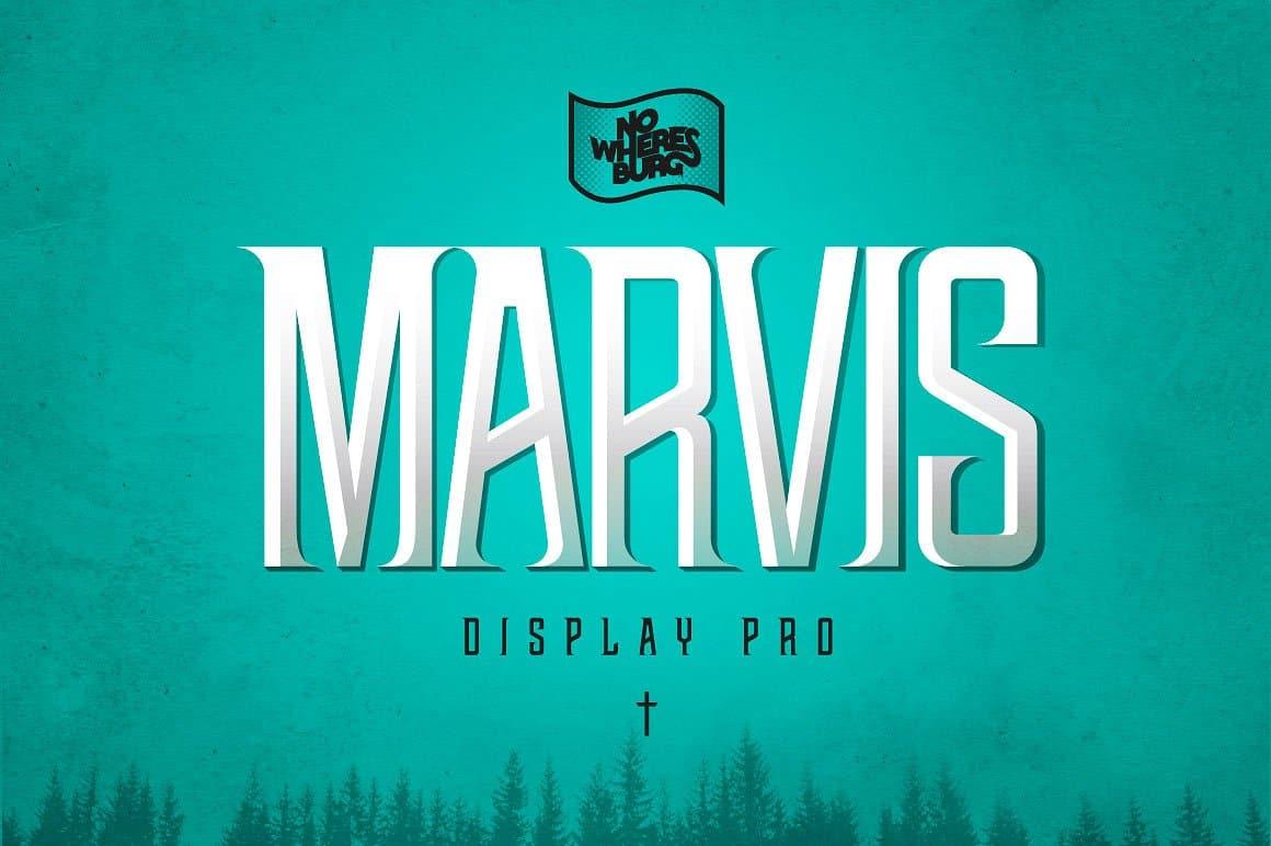 NWB Marvis шрифт скачать бесплатно