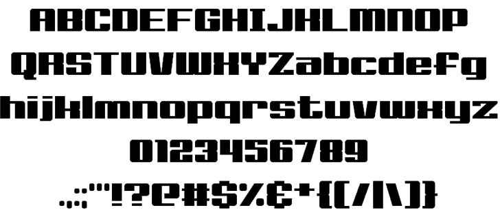 Big Old Boldy шрифт скачать бесплатно