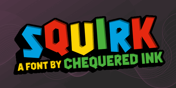 Squirk шрифт скачать бесплатно