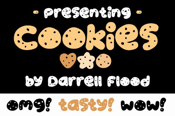 Cookies шрифт скачать бесплатно
