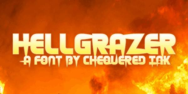 Hellgrazer шрифт скачать бесплатно