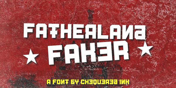 Fatherland шрифт скачать бесплатно