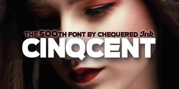 Cinqcent шрифт скачать бесплатно
