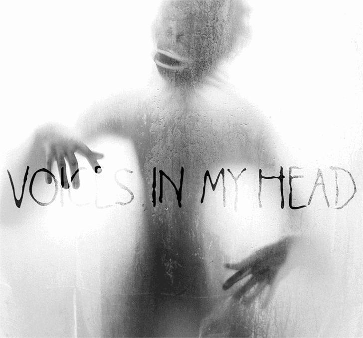 Voices in my Head шрифт скачать бесплатно