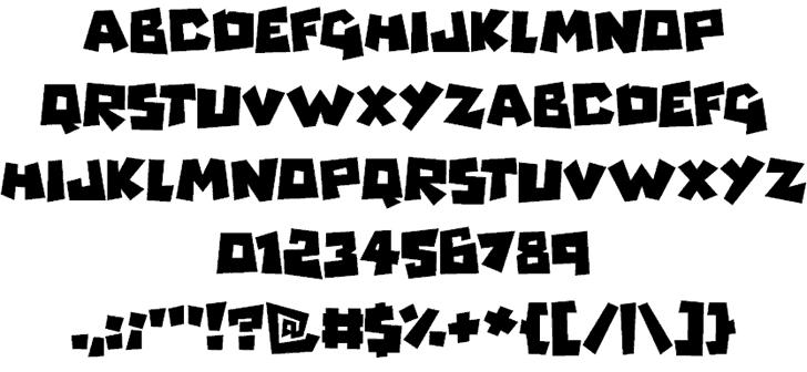 Monsterz шрифт скачать бесплатно