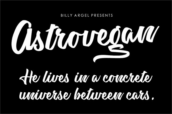 Astrovegan шрифт скачать бесплатно
