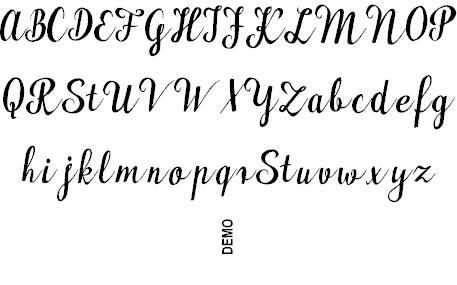 Maudlyn шрифт скачать бесплатно