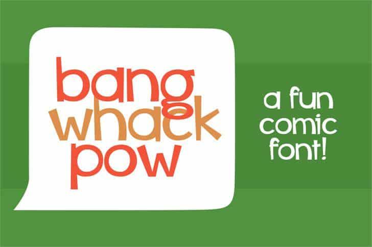 Whiz bang шрифт скачать бесплатно