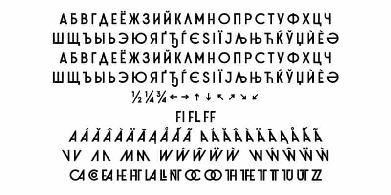 Stereonic XS шрифт скачать бесплатно