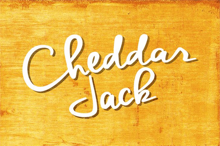 Cheddar Jack шрифт скачать бесплатно