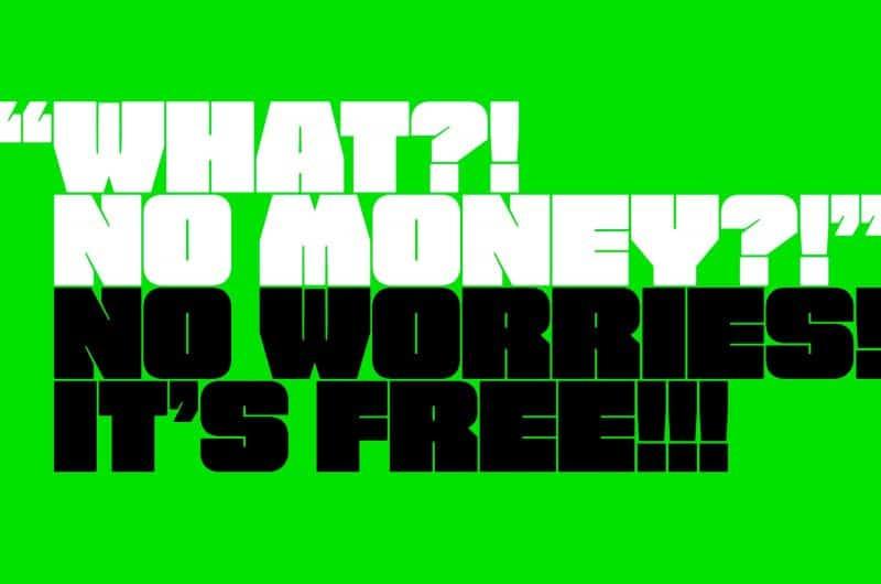 FREE FAT FONT шрифт скачать бесплатно