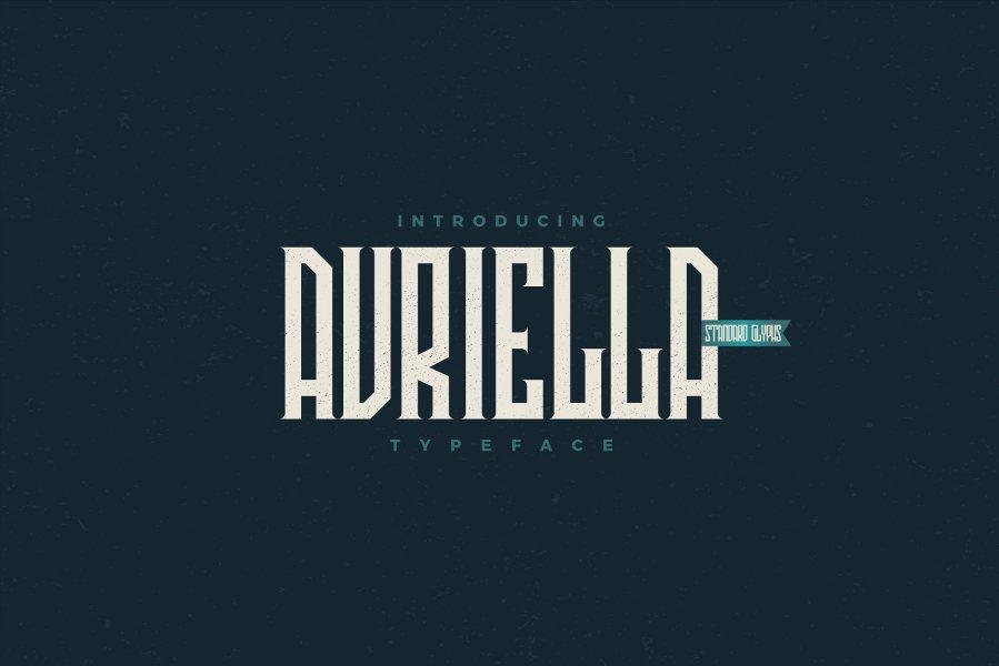Avriella шрифт скачать бесплатно