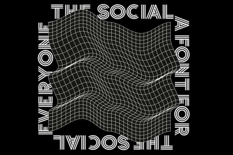 The Social шрифт скачать бесплатно