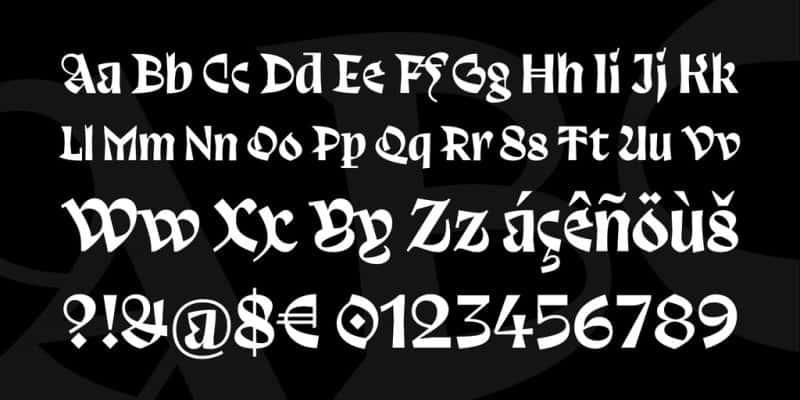 Trickster шрифт скачать бесплатно