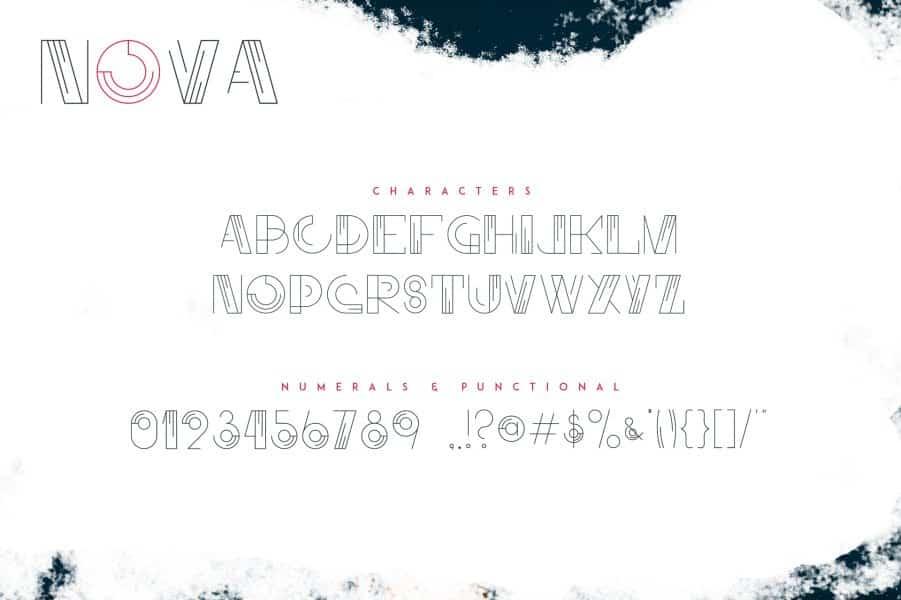 Nova шрифт скачать бесплатно