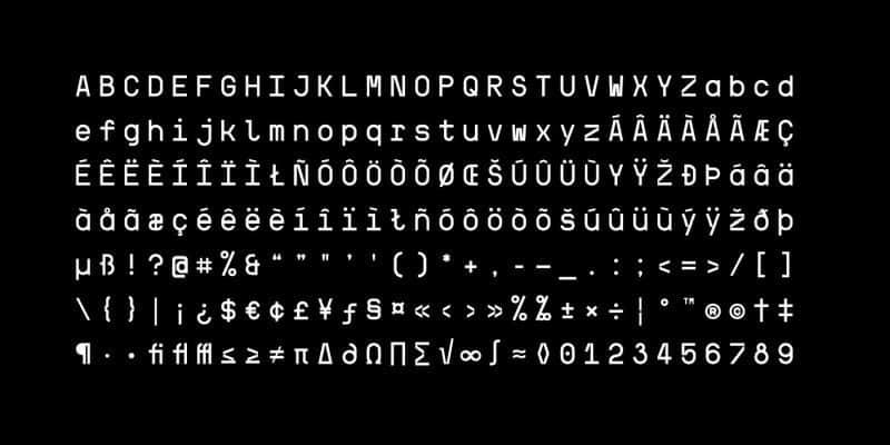 Kraft Mono шрифт скачать бесплатно