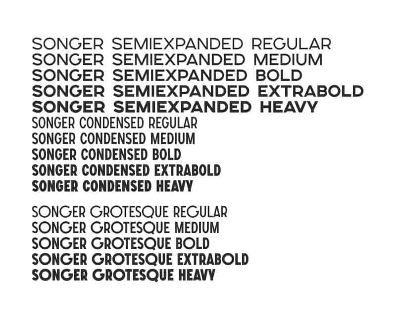 Songer шрифт скачать бесплатно