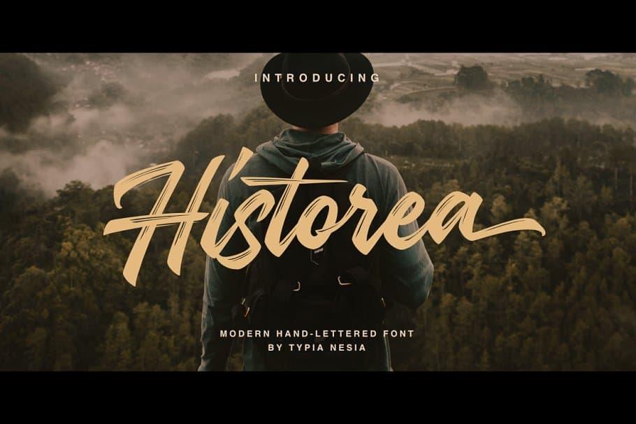 Historea шрифт скачать бесплатно