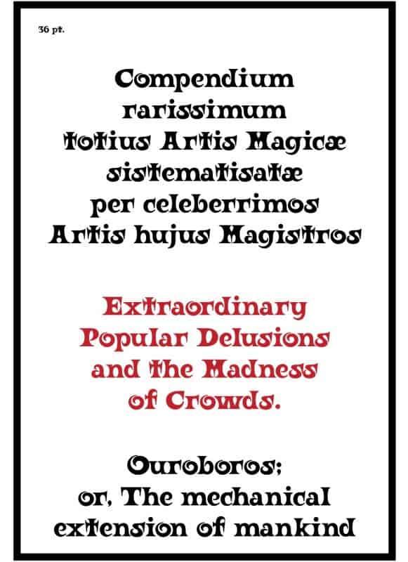 Ouroboros шрифт скачать бесплатно