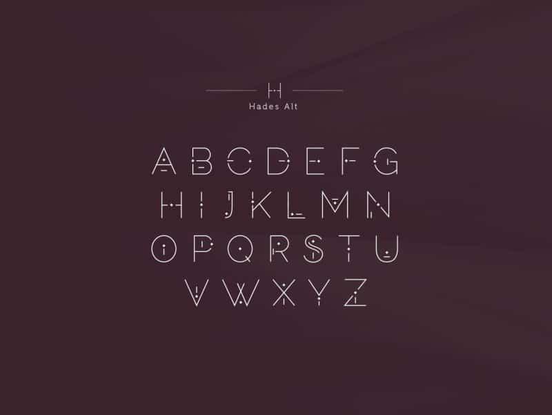 Persephone & Hades шрифт скачать бесплатно