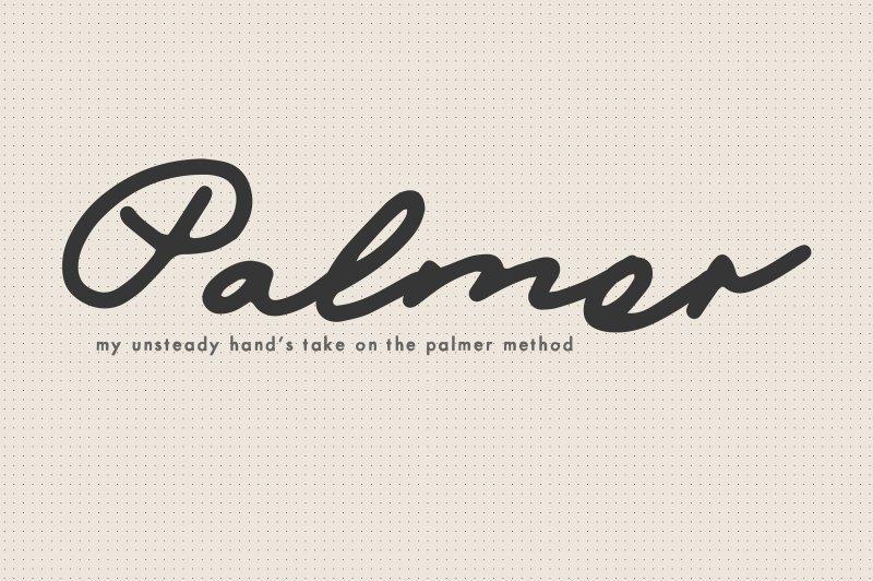 Mix Palmer шрифт скачать бесплатно
