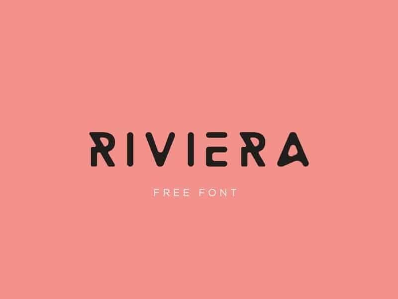Riviera шрифт скачать бесплатно