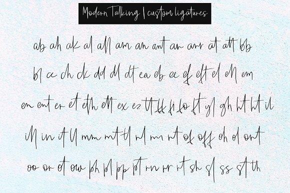 Modern Talking шрифт скачать бесплатно