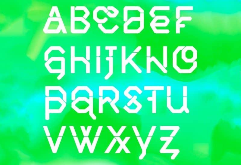 Middlecase Next шрифт скачать бесплатно