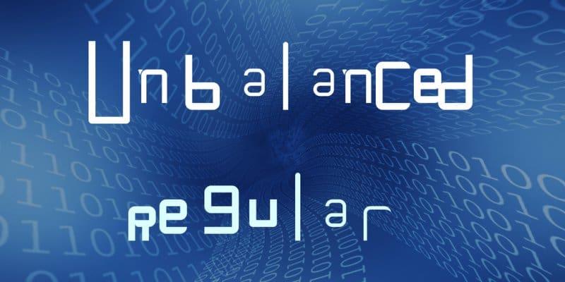 Unbalanced шрифт скачать бесплатно